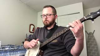 """""""Country Roads"""" Clawhammer Banjo"""