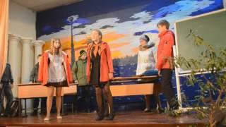 Фестиваль 2016 в школе Чехов-7(Выступление 7а класса)