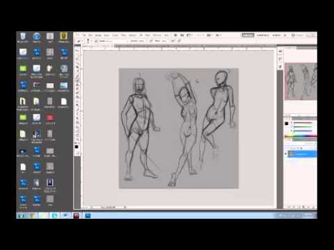 Figure Drawing Lesson 3 - Muscle vs Fat
