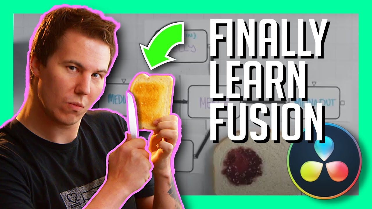 Download FUSION: THE ULTIMATE BEGINNERS GUIDE - DaVinci Resolve 17 Tutorial