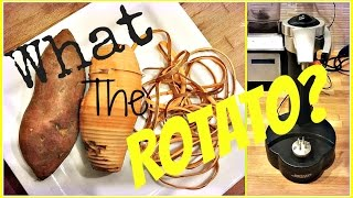 REVIEW Tutorial   Rotato Express Potato Peeler