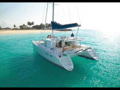 Charter catamaran Lagoon 440 in Greece.wmv