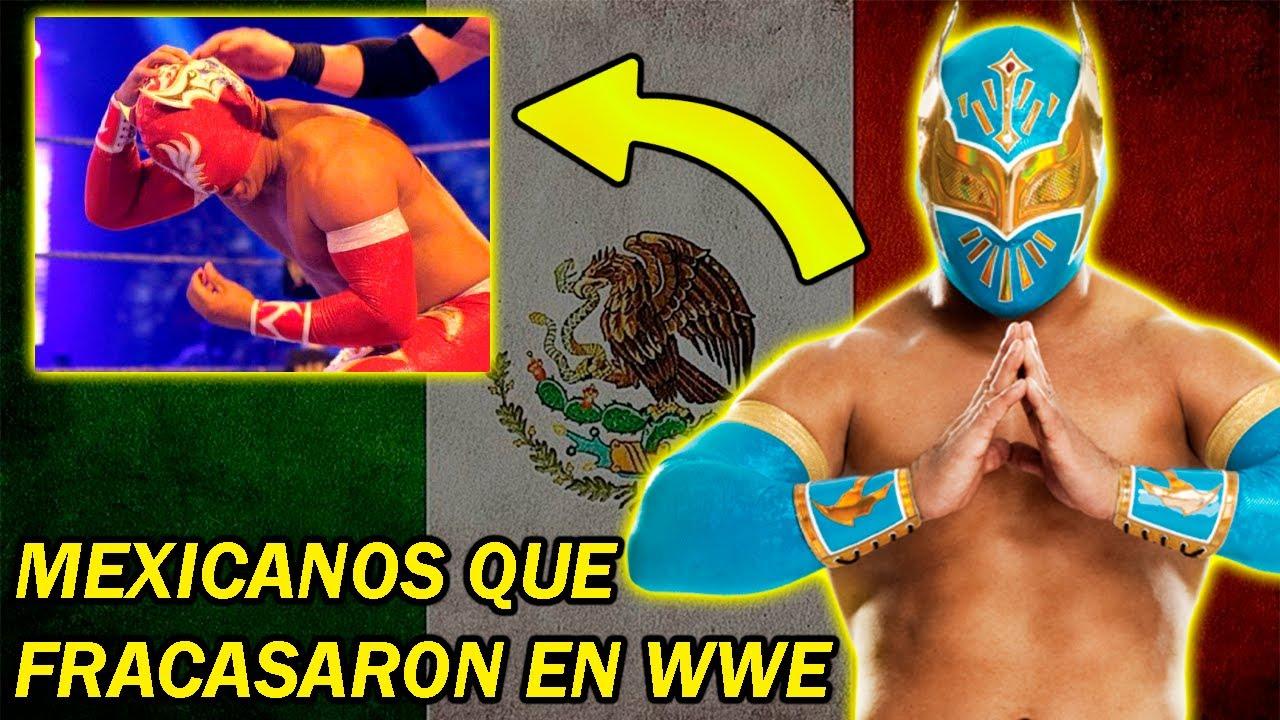 8 LUCHADORES MEXICANOS QUE FRACASARON EN WWE
