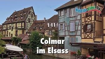 Colmar | Elsass | Sehenswürdigkeiten | Rhein-Eifel.TV