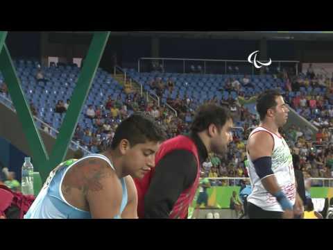 Athletics | Men's Shot Put - F42 Final  | Rio 2016 Paralympic Games