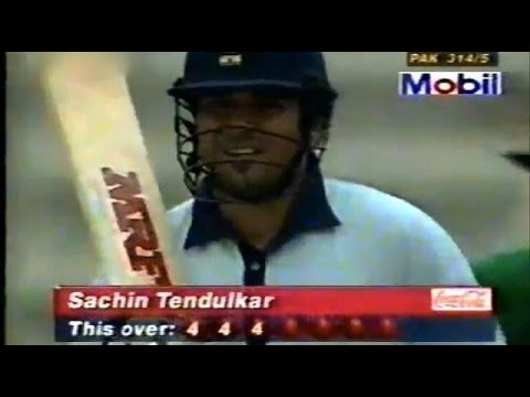 India's most famous win against Pakistan  1998 Independence Cup final! Full innings