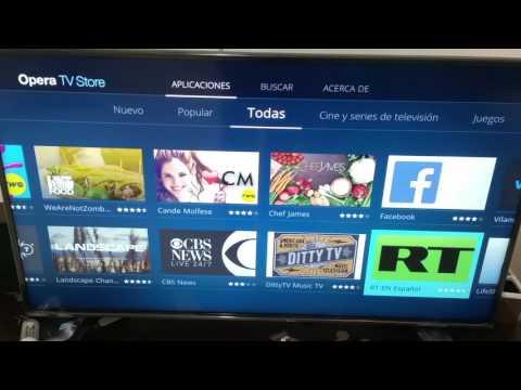 Actualizacion hisense 43'' 4K 43H7C con Opera OS Claro video y Netflix V00.01.00a.G1027