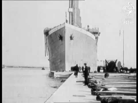 Titanic real footage
