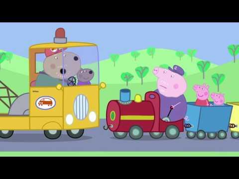 Peppa Pig - Grandpa's Little Train (32 episode / 2 season) [HD]  