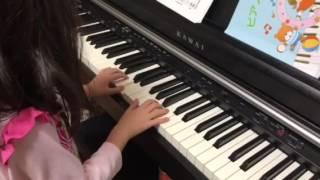 ケンタッキーの我が家を6歳の娘がピアノで演奏しました。
