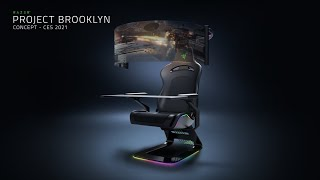 Project Brooklyn | Concept Gaming Chair For Next Generation Immersion