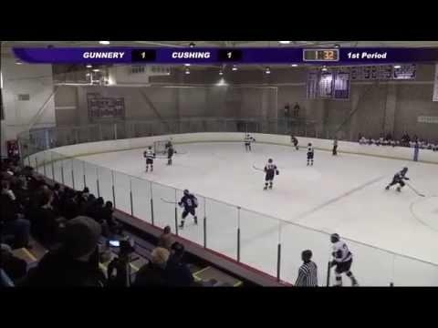 Cushing Academy - Varsity Boys Ice Hockey vs. The Gunnery School
