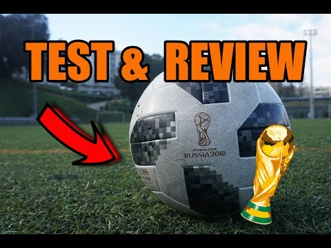 ADIDAS TELSTAR 18 Play Test  FIFA World Cup 2018 Bola Oficial do Mundial 2018