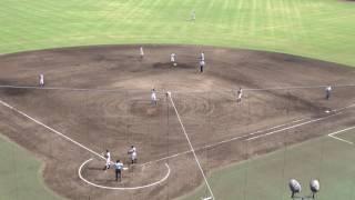 済美高校3回表の攻撃 1アウトランナー2塁、レフト前のタイムリーヒットで追加点 vs松山聖陵高校(準決勝第2試合) thumbnail