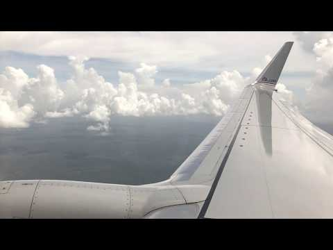 Beautiful Views! AA Boeing 737-800 Landing in Fort Lauderdale!