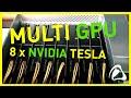 servidor nvidia tesla 8 GPUS 4 TFlops