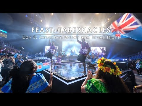 Feast of Tabernacles 2017 Jerusalem March and Israeli Night  Day 5