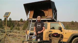 Jeep Camping Overland Style - Following Oregon Desert Historic Routes