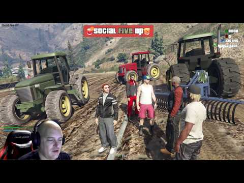 GTA 5 RP #33 I Social Five I Harvey Tucker et Hubert [FR]