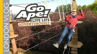 New High Ropes To Conquer At Go Ape Alexandra Palace