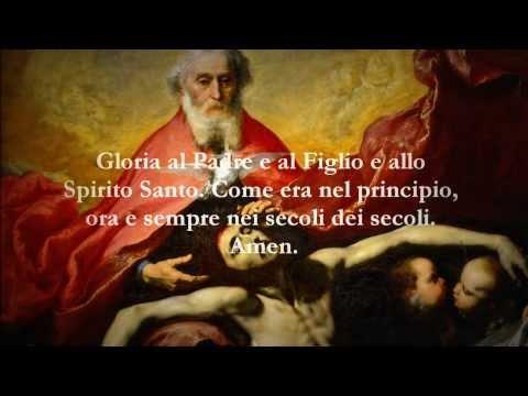 Catholic Prayers - Glory be to the Father, Italian