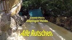 Center Parcs Bispinger Heide - Alle Rutschen und Wildwasser