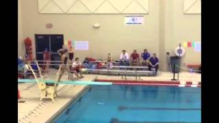 Mariam Khamis High School Sectionals diving