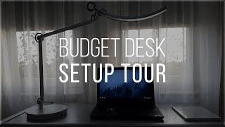Budget Desk Setup Tour