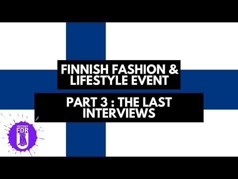 Finnish Fashion & Lifestyle Vlog: Part 3 - The Last Interviews | Victoryforu