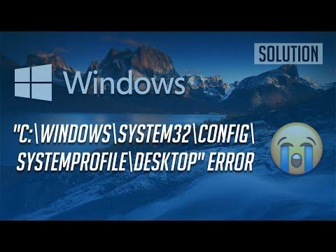 Fix Desktop Location Is Unavailable Error In Windows 10/8/7 [2 Solutions]