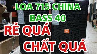 Loa JBL 715 bass 4 tấc rẻ nhất VN mà chất quá 5tr750k
