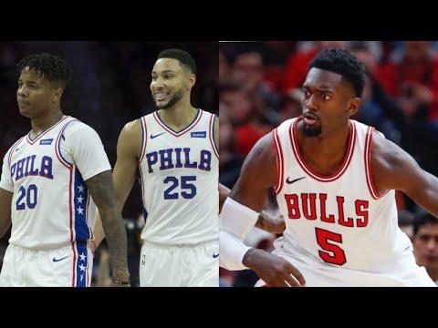 Philadelphia 76ers vs Chicago Bulls Preview | A2D Radio