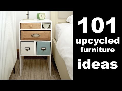 101 Upcycled Furniture Ideas