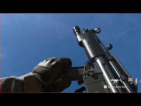 Call Of Duty: Modern Warfare Beta All Weapons Showcase - Reload Animations And Sounds 4K 60FPS