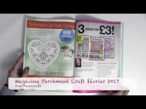 Magazine Parchment craft février 2017