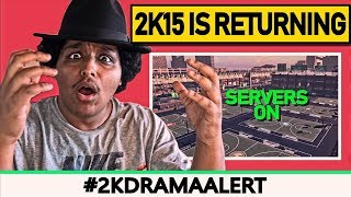 NBA 2K DEVELOPERS ISSUE A WARNING TO PLAYERS, 2K15 SERVERS ARE RETURNING