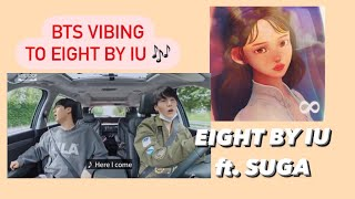 Download BTS VIBING WITH EIGHT BY IU FT. SUGA   BTS IN THE SOOP EP 1
