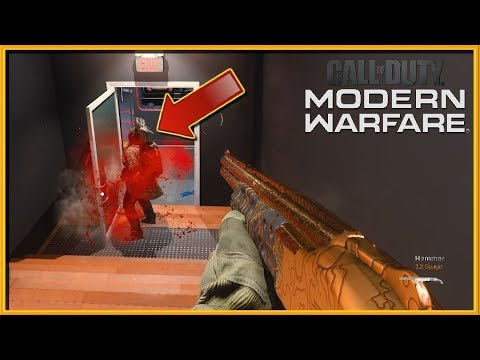 "Modern Warfare - ""Teaching Noobs How To Adapt!""... Shotgun + Riot Shield + Claymores - (Patch 1.09)"