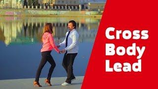 Сальса уроки. Видео для начинающих. Salsa NY - фигура Cross Body Lead.