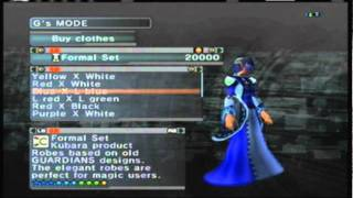 """Phantasy Star Universe: xbox 360 online play """"Clothes shopping and hair stores"""""""