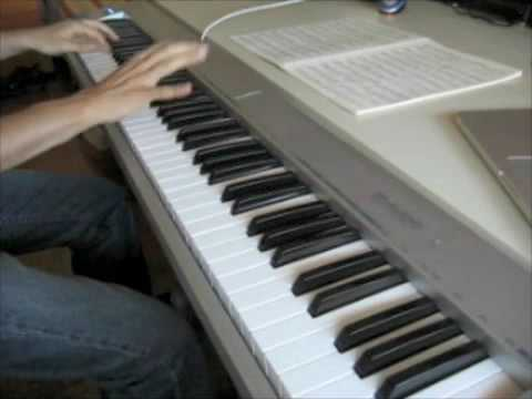 Lady Gaga  Poker face piano   Lucamadeus