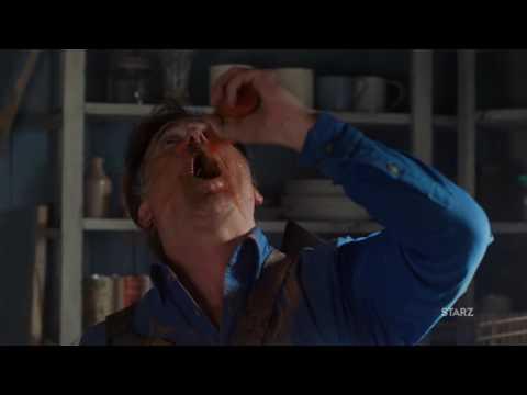 "ASH VS EVIL DEAD Ep. 209   2016   Clip ""Fck You Ash"" HD Bruce Campbell"