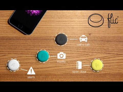 Meet Flic: the wireless Smart Button