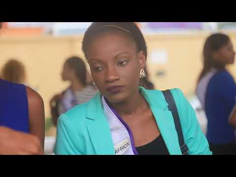 Arrivals: Miss University Africa GUINEA BISSAU