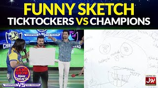 Funny Sketch | Game Show Aisay Chalay GaLeague | TickTockers Vs Champions