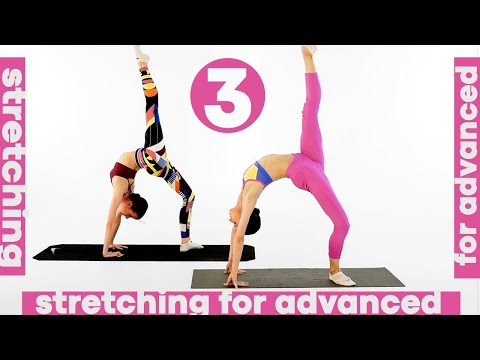 STRETCHING EXERCISES for advanced (3d from 3)