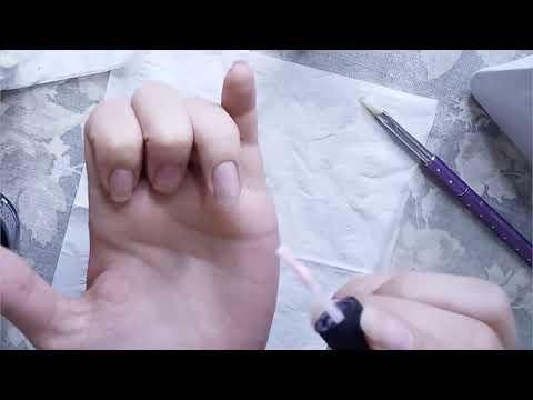 Beauty, manicure neon gel polish