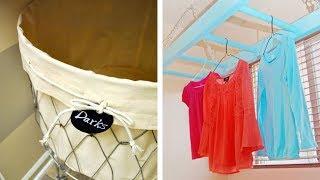17 Brilliant DIY Laundry Room Organization Ideas and Tips VO Script