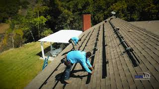 Sunlux Solar System Installation Time Lapse