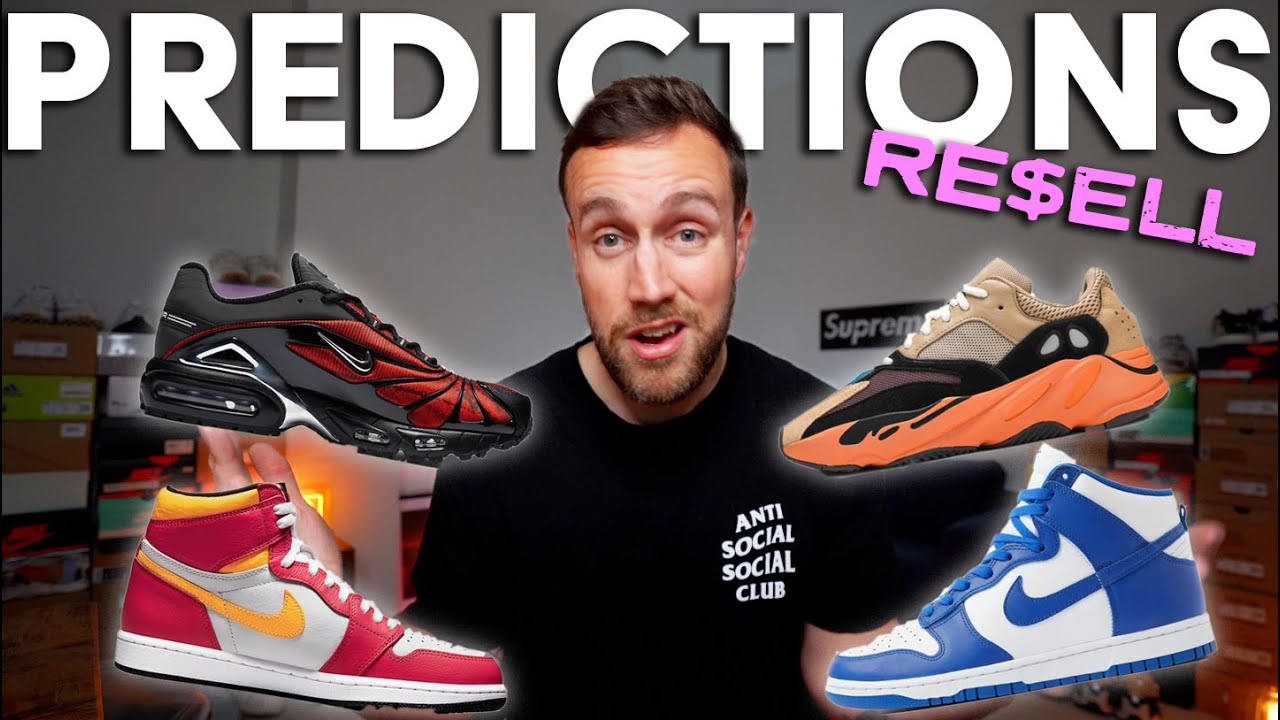 YEEZY ENFLAME AMBER, JORDAN LIGHT FUSION RED, GAME ROYAL DUNK, SKEPTA TAILWIND - Resell Predictions